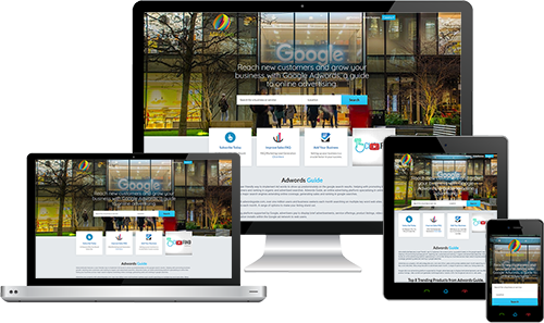 Adwords Guide displayed beautifully on multiple devices