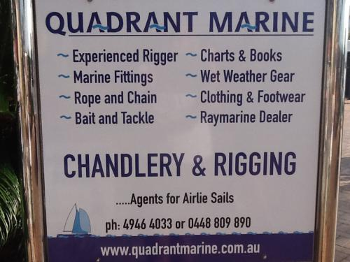 Quadrant Marine Chandlery  Rigging Services - Adwords Guide