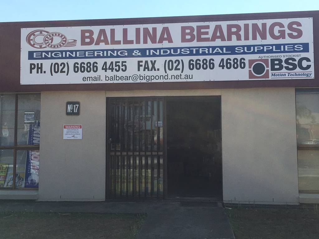 Ballina Bearing Supplies - Adwords Guide