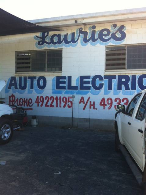 Lauries Auto Electrics - Adwords Guide