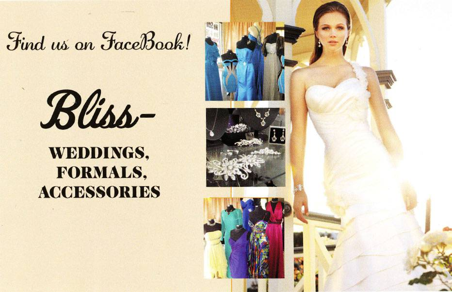BlissWeddings Formals Accessories - Adwords Guide
